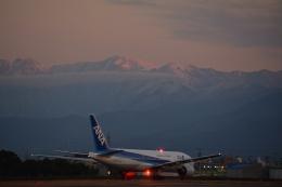 アップルさんが、松山空港で撮影した全日空 777-281/ERの航空フォト(写真)