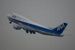 Severemanさんが、羽田空港で撮影した全日空 747-481(D)の航空フォト(写真)