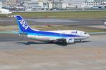 ふじいあきらさんが、福岡空港で撮影したANAウイングス 737-54Kの航空フォト(飛行機 写真・画像)