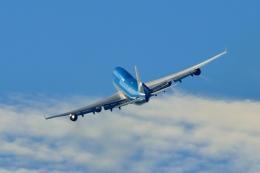 Cimarronさんが、ロサンゼルス国際空港で撮影したKLMオランダ航空 747-406Mの航空フォト(飛行機 写真・画像)