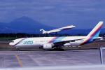 鹿児島空港 - Kagoshima Airport [KOJ/RJFK]で撮影された日本エアシステム - Japan Air System [JD/JAS]の航空機写真