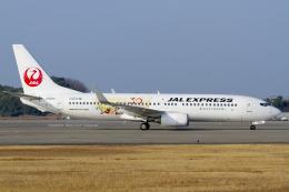Scotchさんが、山口宇部空港で撮影したJALエクスプレス 737-846の航空フォト(飛行機 写真・画像)