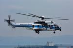 パンダさんが、関西国際空港で撮影した海上保安庁 EC225LP Super Puma Mk2+の航空フォト(飛行機 写真・画像)