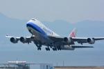 パンダさんが、関西国際空港で撮影したチャイナエアライン 747-409F/SCDの航空フォト(飛行機 写真・画像)