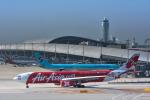 パンダさんが、関西国際空港で撮影したエアアジア・エックス A330-343Xの航空フォト(写真)