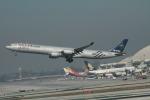 matsuさんが、ロサンゼルス国際空港で撮影した中国東方航空 A340-642の航空フォト(写真)