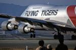 伊丹空港 - Osaka International Airport [ITM/RJOO]で撮影されたフライング・タイガー・ライン - Flying Tiger Line [FT/FTL]の航空機写真