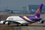 パンダさんが、関西国際空港で撮影したタイ国際航空 A380-841の航空フォト(飛行機 写真・画像)