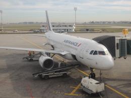 maixxさんが、チュニス・カルタゴ国際空港で撮影したエールフランス航空 A319-115LRの航空フォト(飛行機 写真・画像)