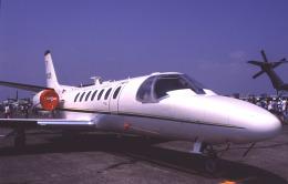 チャーリーマイクさんが、厚木飛行場で撮影したアメリカ空軍 UC-35A Citation Ultra (560)の航空フォト(飛行機 写真・画像)