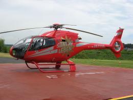 ゴンタさんが、雄飛航空川島ヘリポートで撮影した雄飛航空 EC120B Colibriの航空フォト(飛行機 写真・画像)