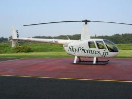 ゴンタさんが、雄飛航空川島ヘリポートで撮影した雄飛航空 R44 IIの航空フォト(飛行機 写真・画像)