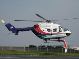 航空フォト:JA6628 セントラルヘリコプターサービス BK117