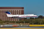 パンダさんが、成田国際空港で撮影したジェット・アビエーション・ビジネス・ジェット G-IV-X Gulfstream G450の航空フォト(飛行機 写真・画像)