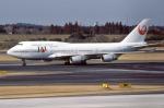 apphgさんが、成田国際空港で撮影した日本航空 747-446の航空フォト(写真)