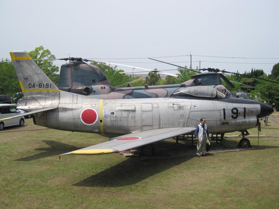 神宮寺 彩さんの航空自衛隊 North American F-86 Sabre (04-8191) 航空フォト