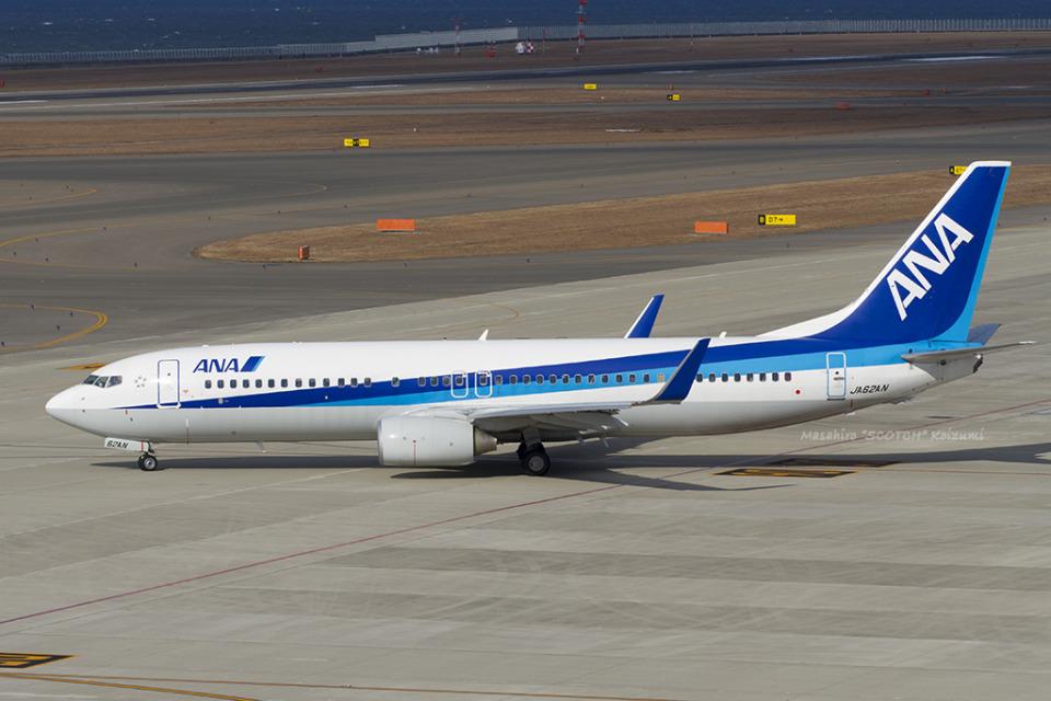 Scotchさんの全日空 Boeing 737-800 (JA62AN) 航空フォト