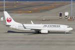 Scotchさんが、中部国際空港で撮影したJALエクスプレス 737-846の航空フォト(飛行機 写真・画像)
