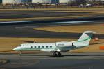 パンダさんが、成田国際空港で撮影したAsia United Business Aviation Ltd G-IV-X Gulfstream G450の航空フォト(写真)