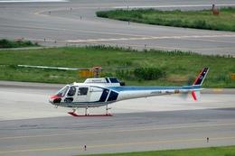 山河 彩さんが、関西国際空港で撮影した中日本航空 AS350B Ecureuilの航空フォト(飛行機 写真・画像)