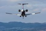 パンダさんが、伊丹空港で撮影したアイベックスエアラインズ CL-600-2B19 Regional Jet CRJ-100LRの航空フォト(飛行機 写真・画像)