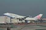 matsuさんが、ロサンゼルス国際空港で撮影したチャイナエアライン 747-409の航空フォト(飛行機 写真・画像)