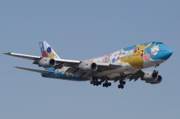 EXIA01さんが、福岡空港で撮影した全日空 747-481(D)の航空フォト(飛行機 写真・画像)