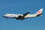 matsuさんが、ロサンゼルス国際空港で撮影したチャイナエアライン 747-409F/SCDの航空フォト(飛行機 写真・画像)