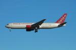 matsuさんが、ロサンゼルス国際空港で撮影したオムニエアインターナショナル 767-328/ERの航空フォト(写真)