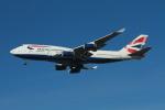 matsuさんが、ロサンゼルス国際空港で撮影したブリティッシュ・エアウェイズ 747-436の航空フォト(写真)