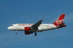 matsuさんが、ロサンゼルス国際空港で撮影したヴァージン・アメリカ A319-112の航空フォト(飛行機 写真・画像)