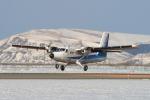 EXIA01さんが、稚内空港で撮影したエアー北海道 DHC-6-300 Twin Otterの航空フォト(写真)