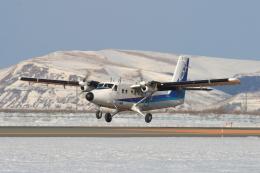 EXIA01さんが、稚内空港で撮影したエアー北海道 DHC-6-300 Twin Otterの航空フォト(飛行機 写真・画像)