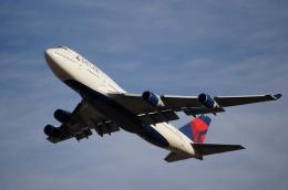 ケイエスワルツオーさんが、成田国際空港で撮影したデルタ航空 747-451の航空フォト(飛行機 写真・画像)