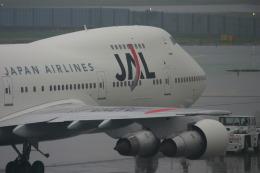 あおちゃんさんが、成田国際空港で撮影した日本航空 747-246Bの航空フォト(飛行機 写真・画像)