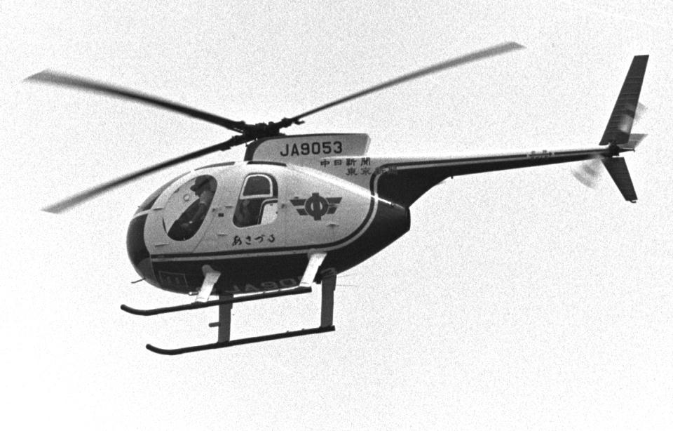 チャーリーマイクさんの中日新聞社 Hughes 369 (JA9053) 航空フォト