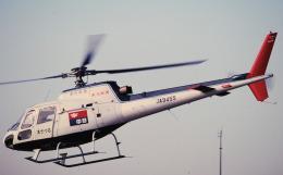 チャーリーマイクさんが、東京ヘリポートで撮影した中日新聞社 AS350B Ecureuilの航空フォト(飛行機 写真・画像)
