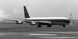 ハミングバードさんが、名古屋飛行場で撮影したブリティッシュ・オーバーシーズ・エアウェイズ (BOAC) 707-436の航空フォト(飛行機 写真・画像)