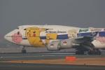肉食獣さんが、伊丹空港で撮影した全日空 747-481の航空フォト(写真)