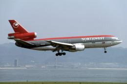 Gambardierさんが、関西国際空港で撮影したノースウエスト航空 DC-10-30の航空フォト(飛行機 写真・画像)