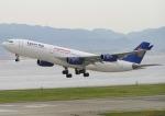 なぁちゃんさんが、関西国際空港で撮影したエジプト航空 A340-212の航空フォト(写真)