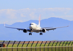 ふじいあきらさんが、出雲空港で撮影したJALエクスプレス 737-846の航空フォト(飛行機 写真・画像)