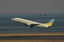 コタちゃんさんが、羽田空港で撮影したAIR DO 737-4Y0の航空フォト(飛行機 写真・画像)