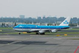 Gambardierさんが、アムステルダム・スキポール国際空港で撮影したKLMオランダ航空 747-406Mの航空フォト(飛行機 写真・画像)