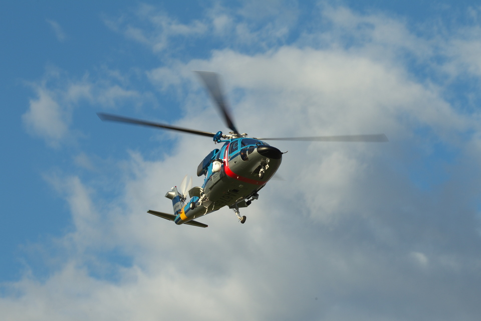 T.Sazenさんの兵庫県警察 Sikorsky S-76 (ja6765) 航空フォト