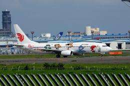 夏奈さんが、成田国際空港で撮影した中国国際航空 737-86Nの航空フォト(飛行機 写真・画像)