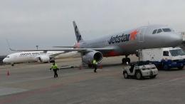 CHAN☆KIYOさんが、成田国際空港で撮影したジェットスター・ジャパン A320-232の航空フォト(飛行機 写真・画像)