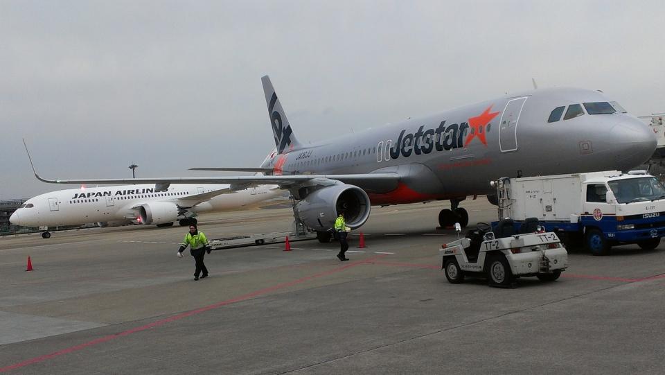CHAN☆KIYOさんのジェットスター・ジャパン Airbus A320 (JA16JJ) 航空フォト