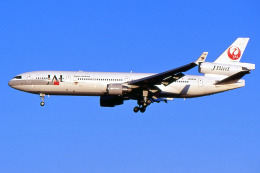 apphgさんが、成田国際空港で撮影した日本航空 MD-11の航空フォト(飛行機 写真・画像)