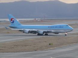 ジャガイモさんが、関西国際空港で撮影した大韓航空 747-4B5F/SCDの航空フォト(飛行機 写真・画像)